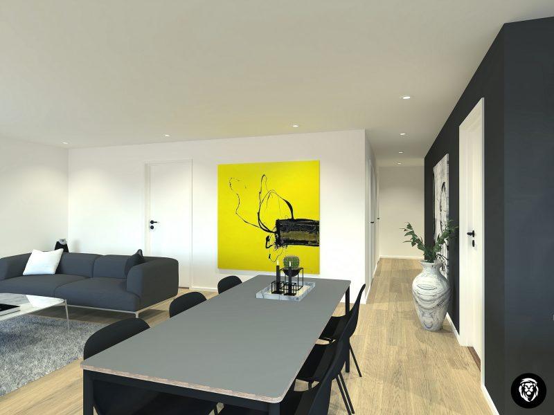 15. Stue, kjøkken 95,45m2